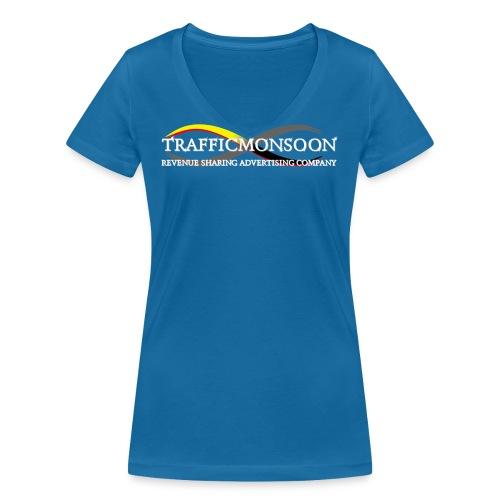 logo1TM - Women's Organic V-Neck T-Shirt by Stanley & Stella