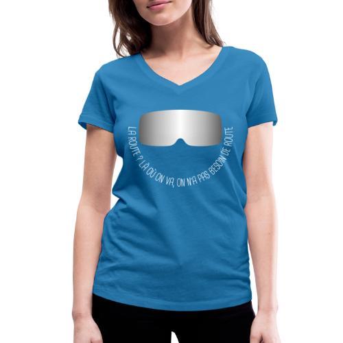 Lunettes du doc - T-shirt bio col V Stanley & Stella Femme