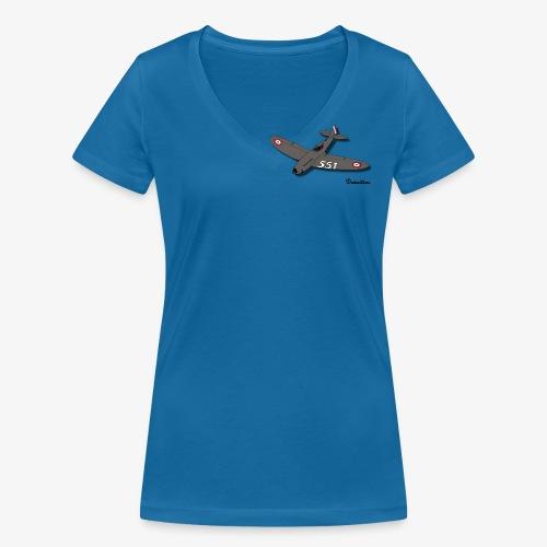 D551 - T-shirt bio col V Stanley & Stella Femme