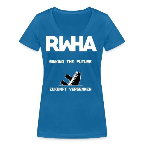 sink2 png - Frauen Bio-T-Shirt mit V-Ausschnitt von Stanley & Stella