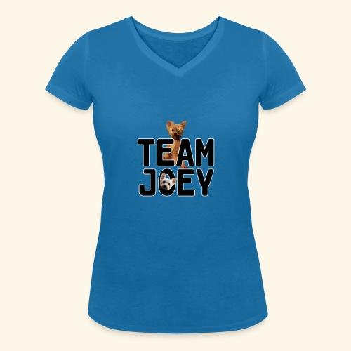 Team Joey - Women's Organic V-Neck T-Shirt by Stanley & Stella