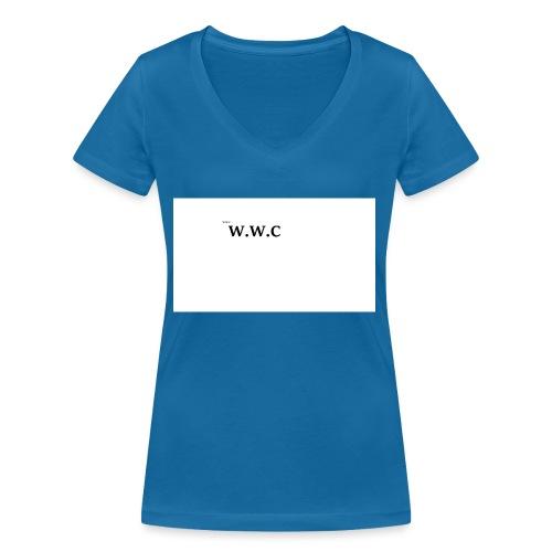 White Wolf Clothing - Økologisk Stanley & Stella T-shirt med V-udskæring til damer