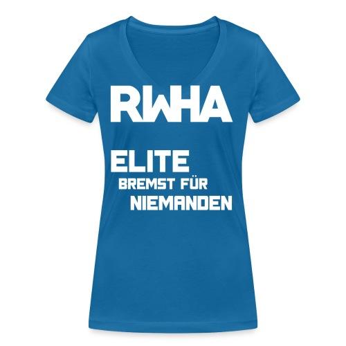 Elite2 png - Frauen Bio-T-Shirt mit V-Ausschnitt von Stanley & Stella