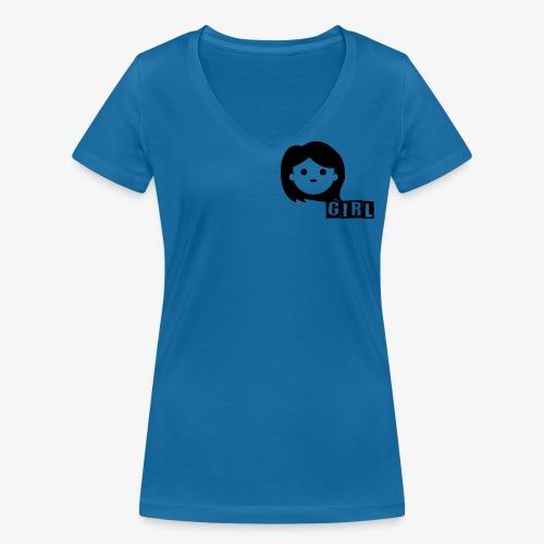 girls - T-shirt bio col V Stanley & Stella Femme