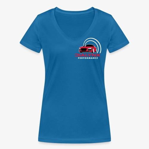 Dialynx Logo - Women's Organic V-Neck T-Shirt by Stanley & Stella