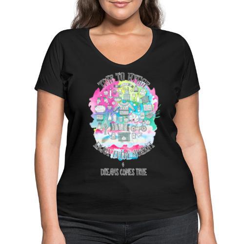 Time to Hygge - T-shirt bio col V Stanley & Stella Femme