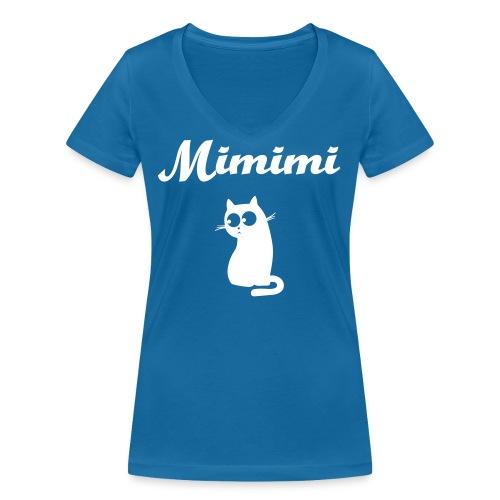 mimimi - Frauen Bio-T-Shirt mit V-Ausschnitt von Stanley & Stella