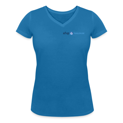 AFUP Toulouse - T-shirt bio col V Stanley & Stella Femme