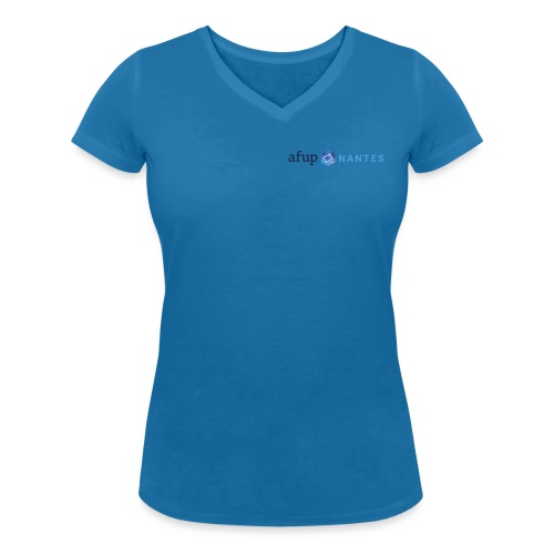 AFUP Nantes - T-shirt bio col V Stanley & Stella Femme