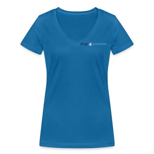 AFUP Bordeaux - T-shirt bio col V Stanley & Stella Femme