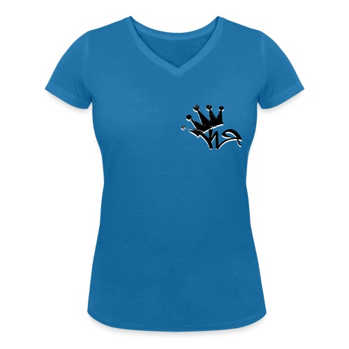 Crown - Women's Organic V-Neck T-Shirt by Stanley & Stella