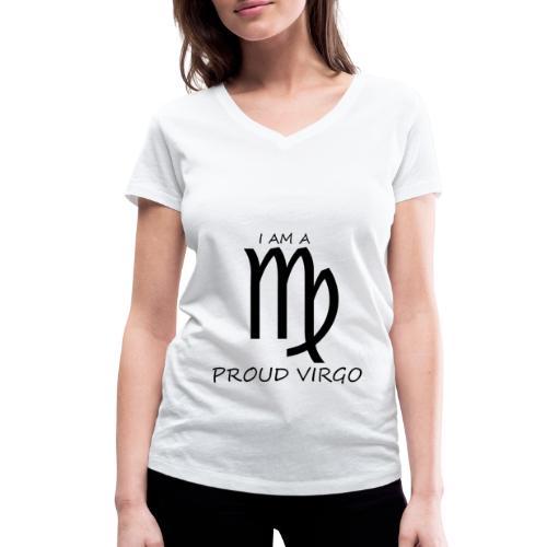 VIRGO - Women's Organic V-Neck T-Shirt by Stanley & Stella