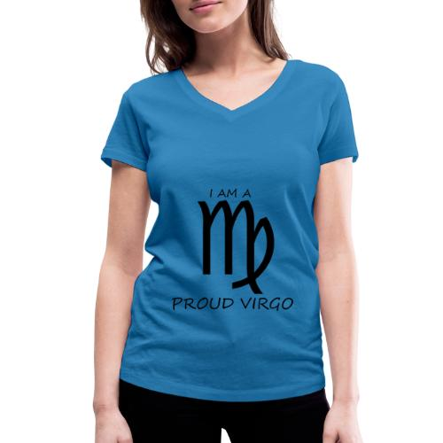 VIRGO - Women's Organic V-Neck T-Shirt by Stanley & Stella