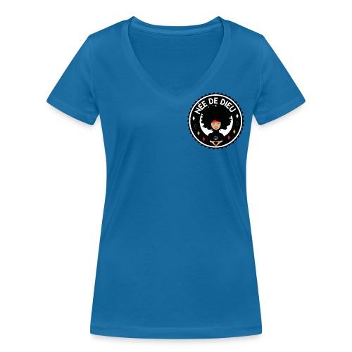 Née de Dieu - T-shirt bio col V Stanley & Stella Femme
