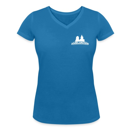 kirchen simpel mit amelunxen - Frauen Bio-T-Shirt mit V-Ausschnitt von Stanley & Stella