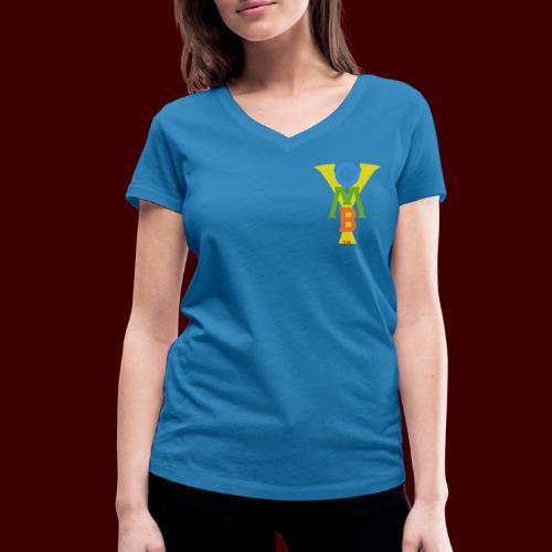 Yom by me - T-shirt bio col V Stanley & Stella Femme