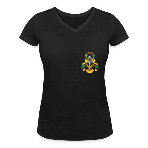 Vaakuna - Stanley & Stellan naisten v-aukkoinen luomu-T-paita