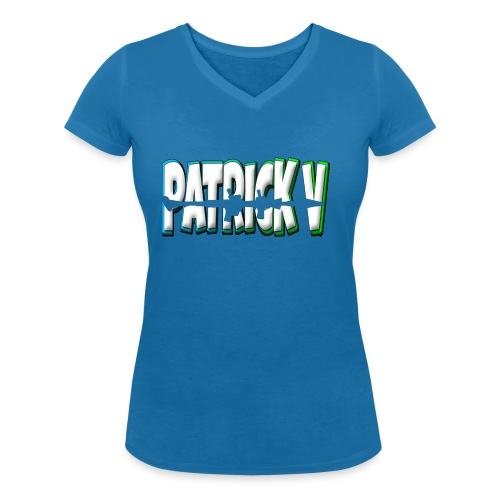Patrick V Name - Women's Organic V-Neck T-Shirt by Stanley & Stella