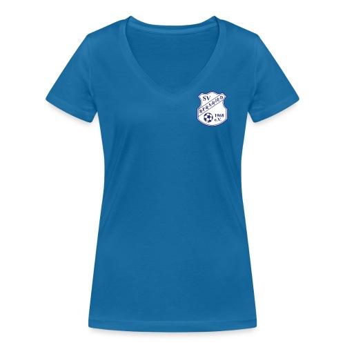 Logopng - Frauen Bio-T-Shirt mit V-Ausschnitt von Stanley & Stella