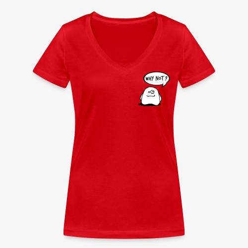 gosthy - Women's Organic V-Neck T-Shirt by Stanley & Stella