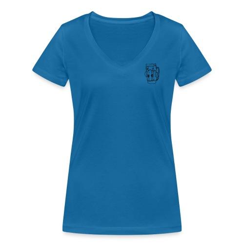 Backpack 2 - T-shirt ecologica da donna con scollo a V di Stanley & Stella