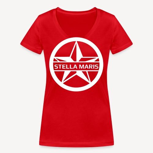 STELLA MARIS - Women's Organic V-Neck T-Shirt by Stanley & Stella