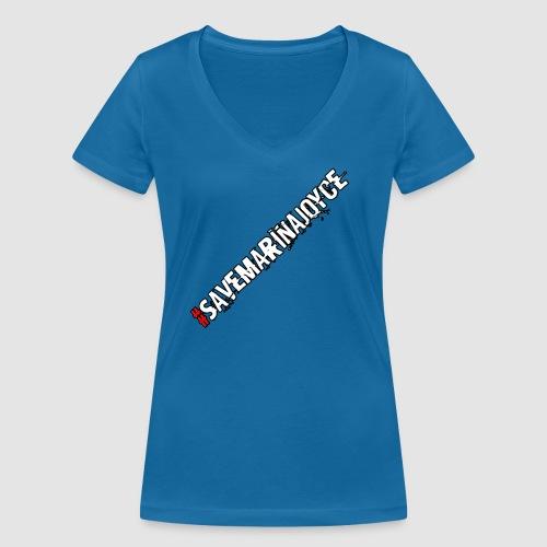 SaveMarinaJoyce - Women's Organic V-Neck T-Shirt by Stanley & Stella