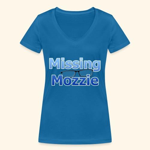 Missing Mozzie - Women's Organic V-Neck T-Shirt by Stanley & Stella