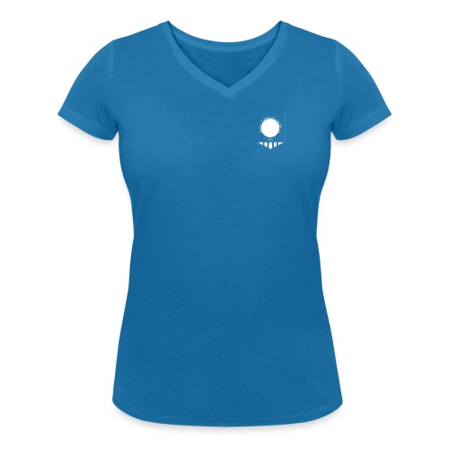 tujen vaakunalogo - Stanley & Stellan naisten v-aukkoinen luomu-T-paita