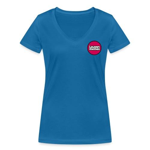 Logo LeuvenMemes - T-shirt bio col V Stanley & Stella Femme