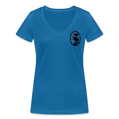ATENA - T-shirt ecologica da donna con scollo a V di Stanley & Stella