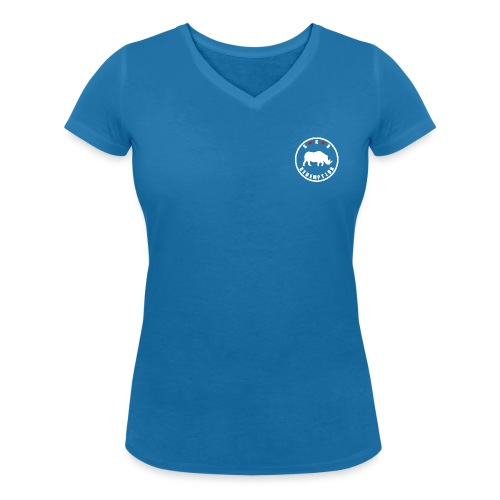 Rhino White 4 - T-shirt bio col V Stanley & Stella Femme