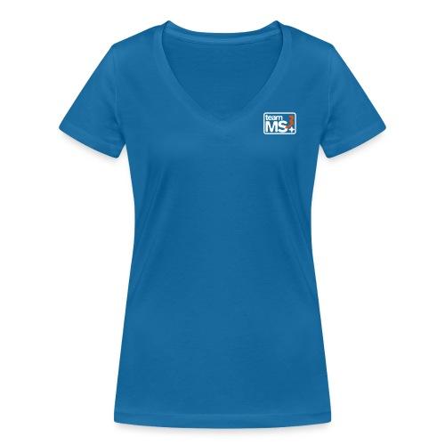 Team MS3 - Frauen Bio-T-Shirt mit V-Ausschnitt von Stanley & Stella