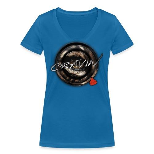wildcat Kopie png - Women's Organic V-Neck T-Shirt by Stanley & Stella