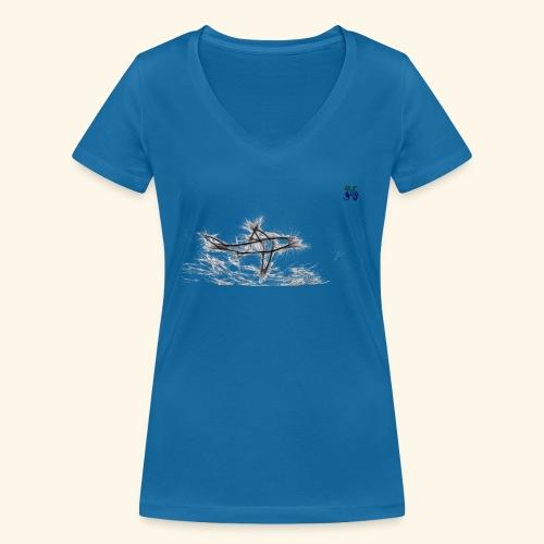 shark 03 21 - Women's Organic V-Neck T-Shirt by Stanley & Stella