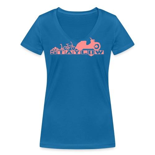 STAYLOW BMX - Frauen Bio-T-Shirt mit V-Ausschnitt von Stanley & Stella