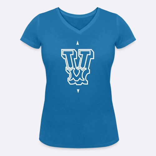 The 'V' by Heartcore Vegan - Women's Organic V-Neck T-Shirt by Stanley & Stella