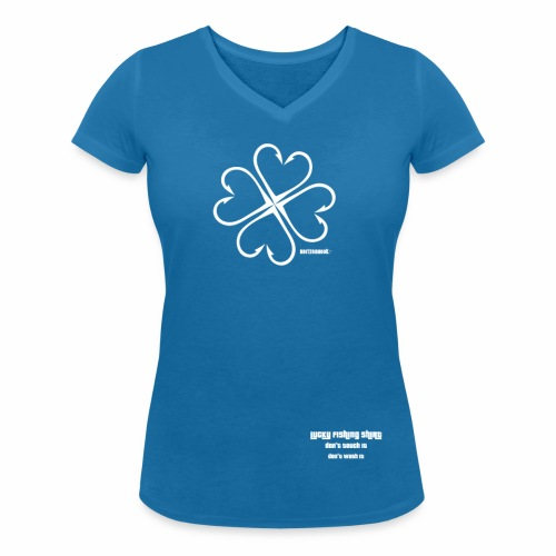 HorizonHook LuckyShirt - Women's Organic V-Neck T-Shirt by Stanley & Stella