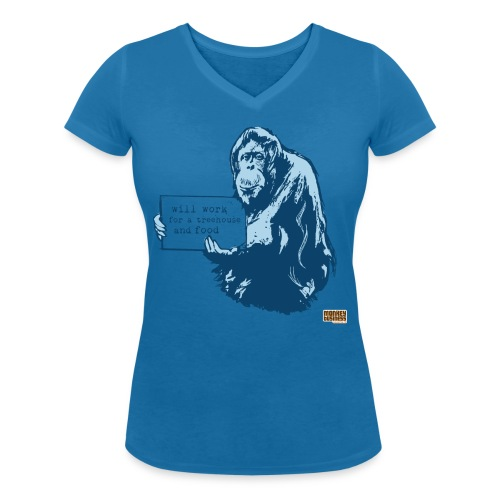 Glenn Doherty - Vrouwen bio T-shirt met V-hals van Stanley & Stella