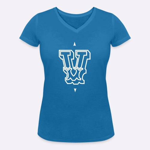 The 'V' by Heartcore Vegan - Women's Organic V-Neck T-Shirt by Stanley & Stella