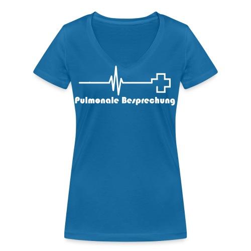Pulmonal_shirt - Frauen Bio-T-Shirt mit V-Ausschnitt von Stanley & Stella