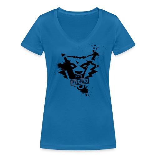 Primex Schwarz png - Frauen Bio-T-Shirt mit V-Ausschnitt von Stanley & Stella