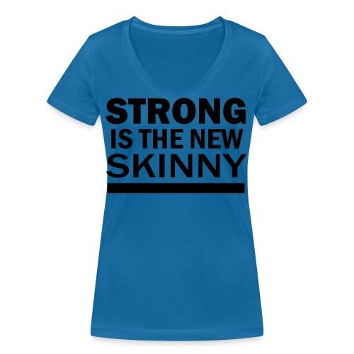 SITNS - Ekologisk T-shirt med V-ringning dam från Stanley & Stella