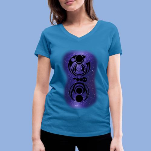 Knocking on heaven's door Space 2 - T-shirt bio col V Stanley & Stella Femme