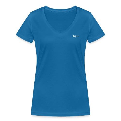 ROYC Logo einfarbig ohne Schriftzug - Frauen Bio-T-Shirt mit V-Ausschnitt von Stanley & Stella
