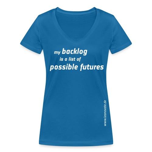 my backlog - Frauen Bio-T-Shirt mit V-Ausschnitt von Stanley & Stella