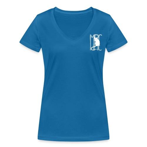 MRC-White - Women's Organic V-Neck T-Shirt by Stanley & Stella