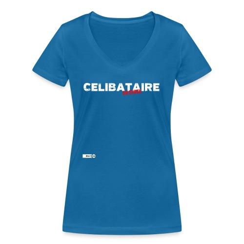Célibataire en stock - T-shirt bio col V Stanley & Stella Femme