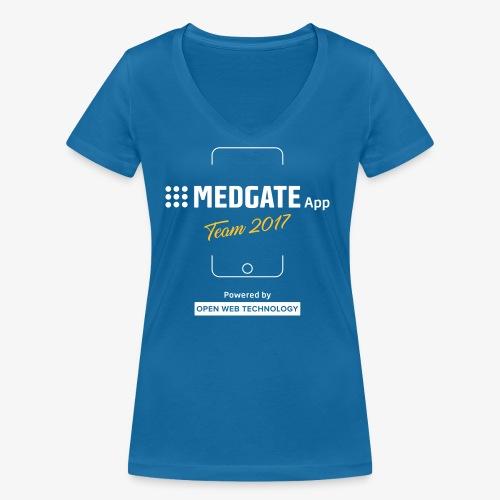 Medgate App Team 2017 Dark - Frauen Bio-T-Shirt mit V-Ausschnitt von Stanley & Stella