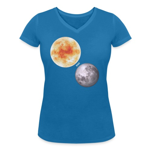 Ego - Camiseta ecológica mujer con cuello de pico de Stanley & Stella